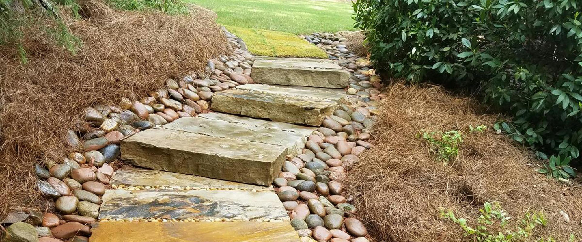 steps and hardscapes