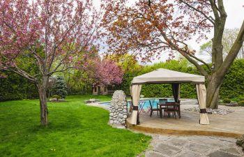 Backyard Landscape Alpharetta GA